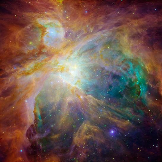 Как сделать цвета космоса
