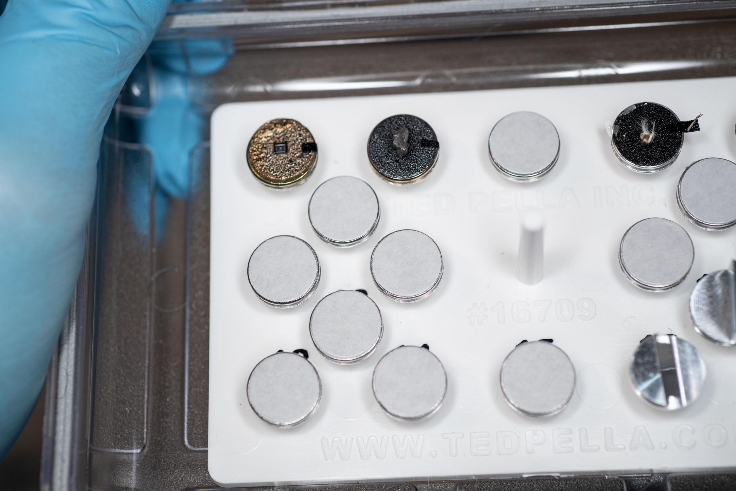 foto del kit de preparación de muestras para Mochii