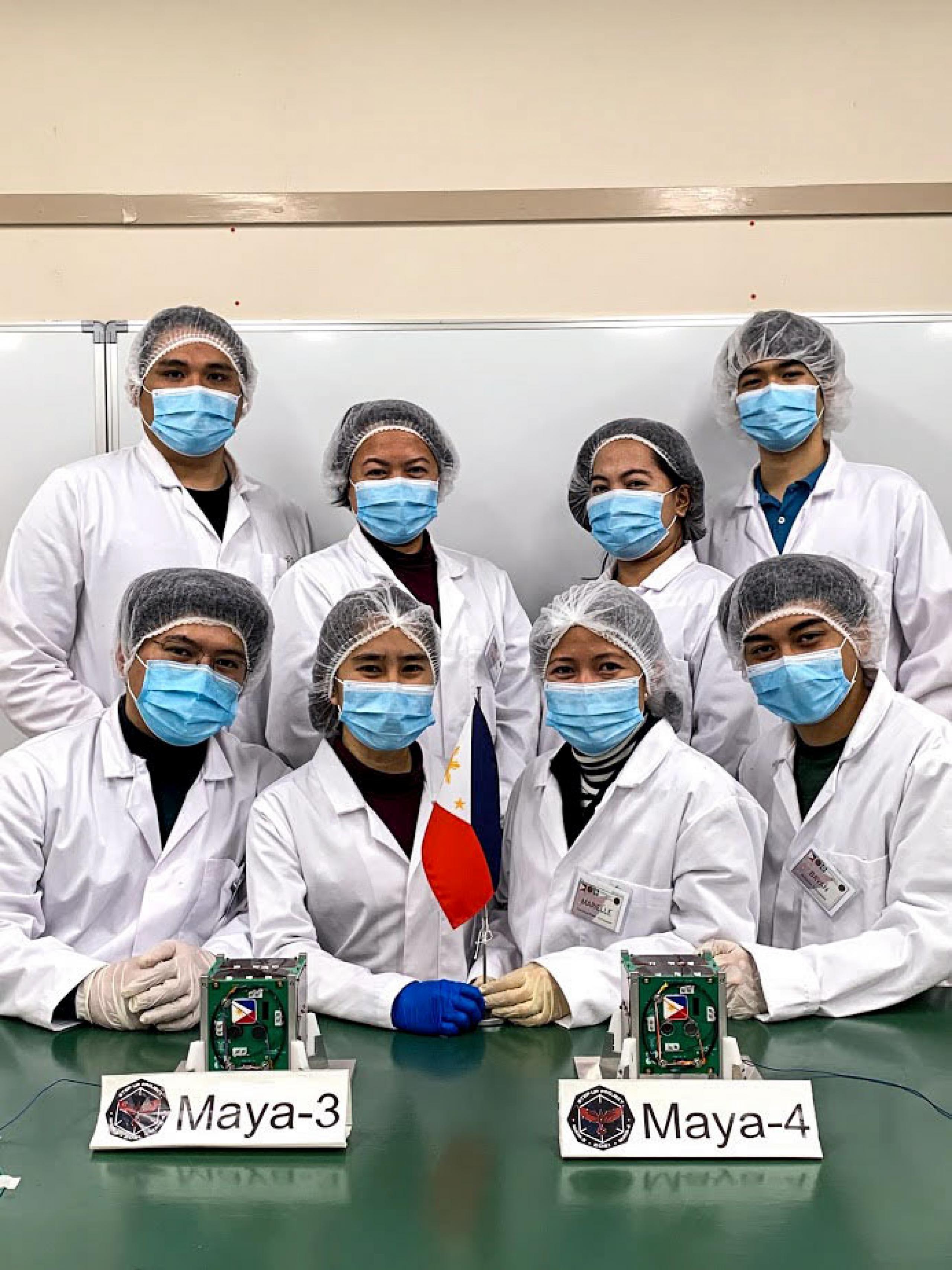 imagen de un equipo de investigadores