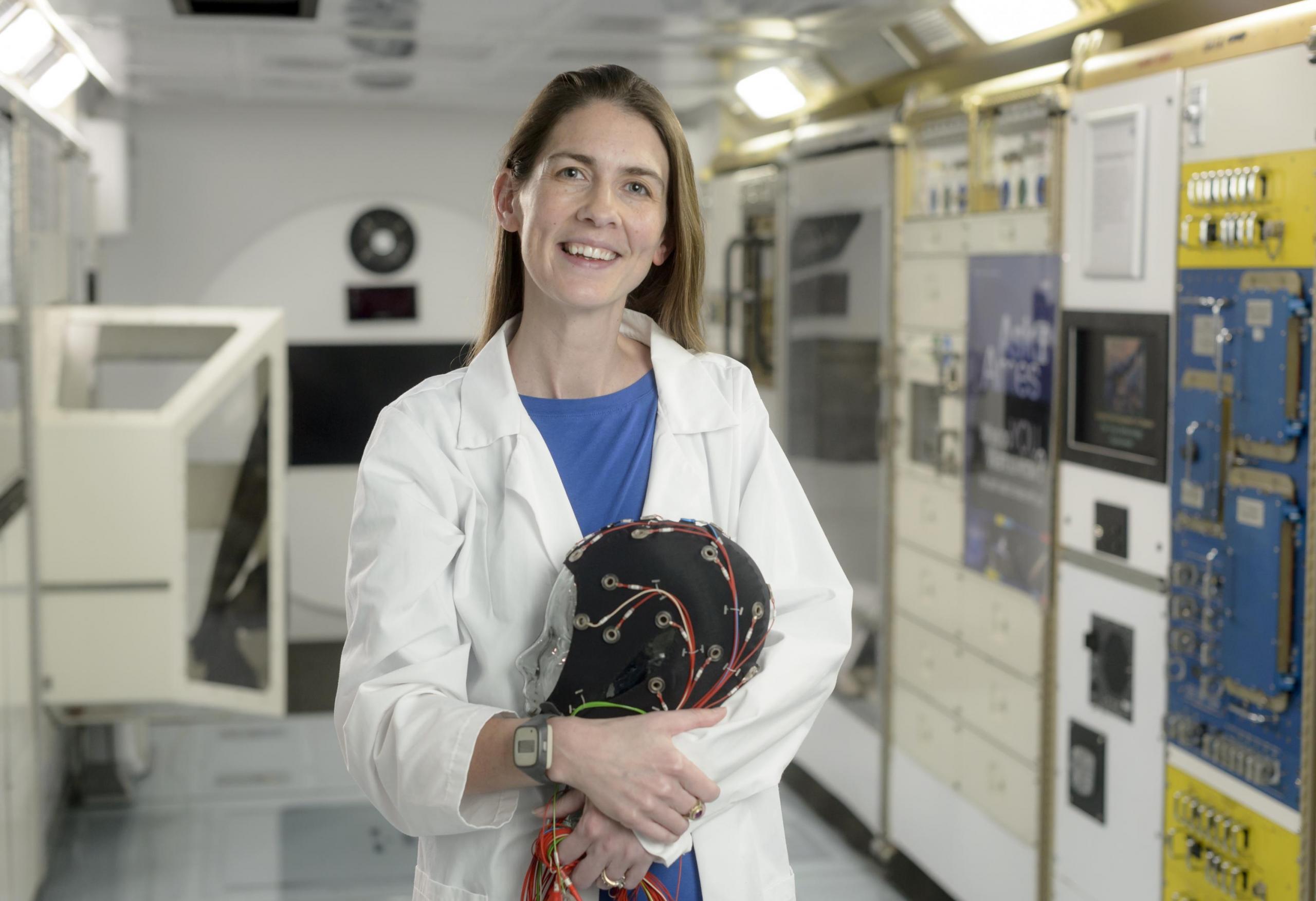 Dra. Erin Flynn-Evans de NASA Ames