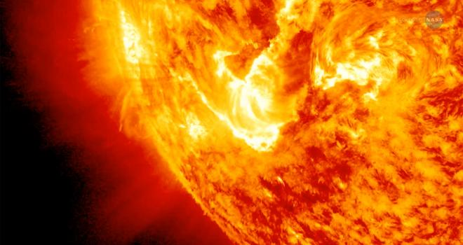 Mystery of Coronal Heating Poster