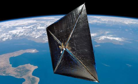 Solar Sail Stunner (drag sail, 550px)