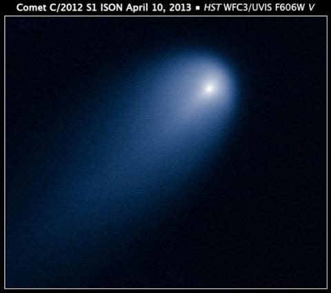 Hubble ISON (splash)