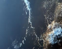 Madagascar, África, visto desde el espacio