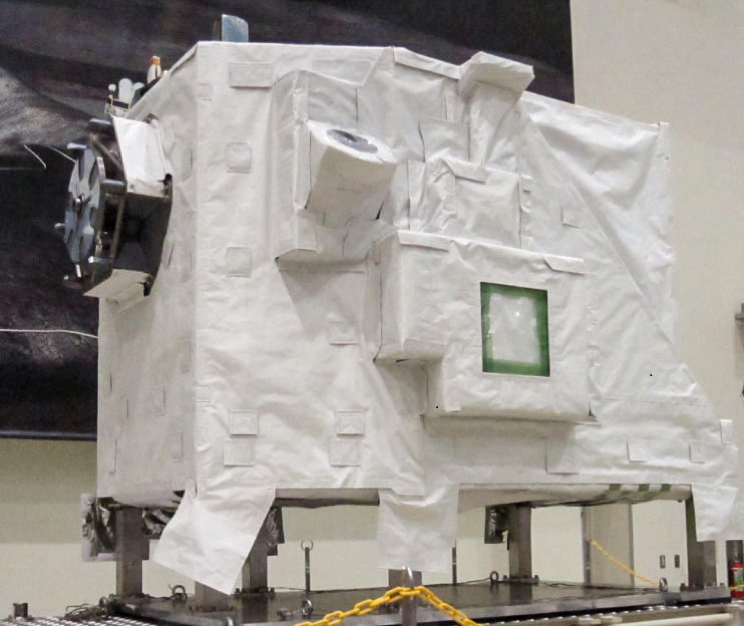 imagen de la caja adonde esta guardado el experimento