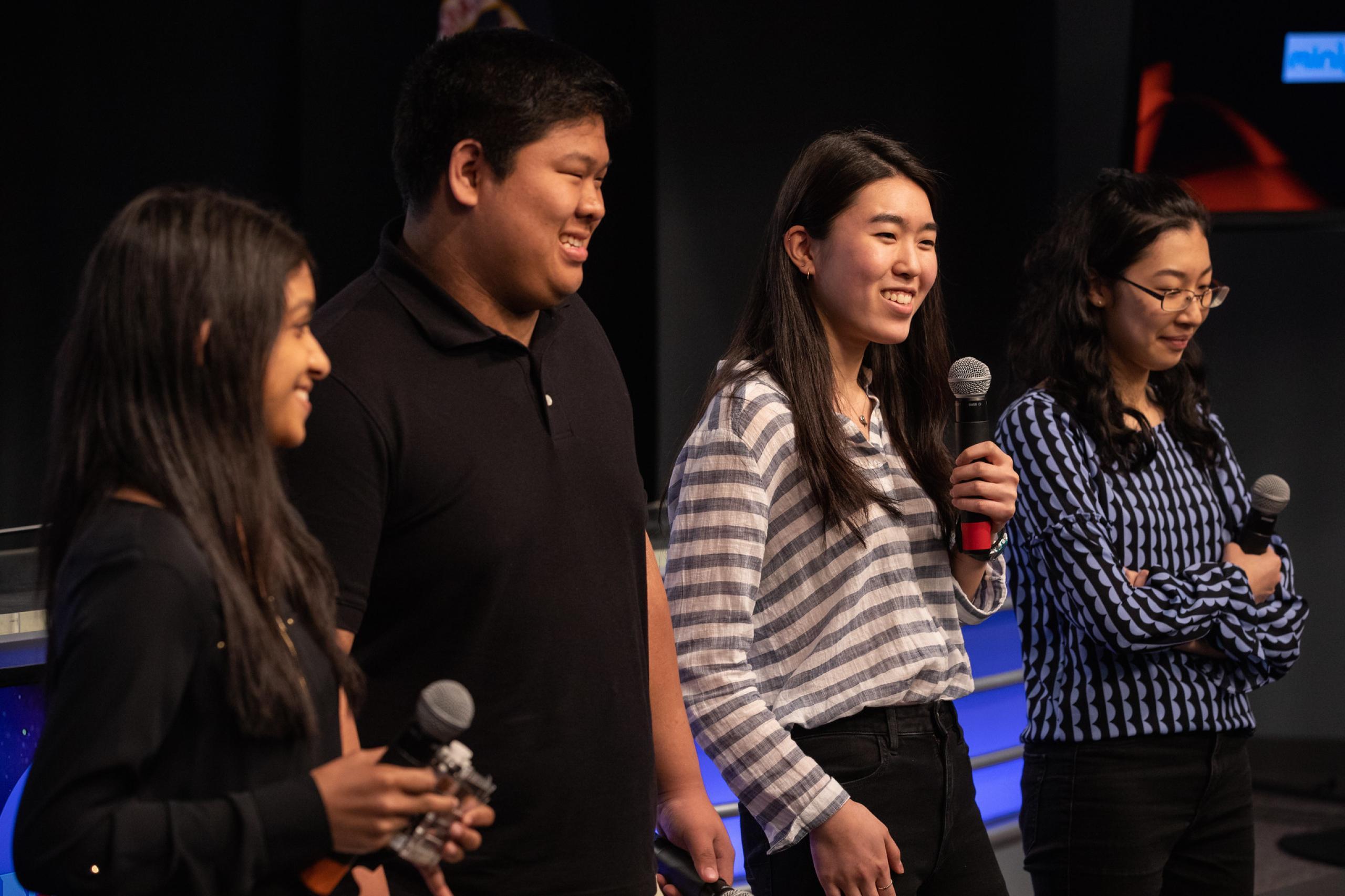 Foto degli studenti che hanno progettato la ricerca