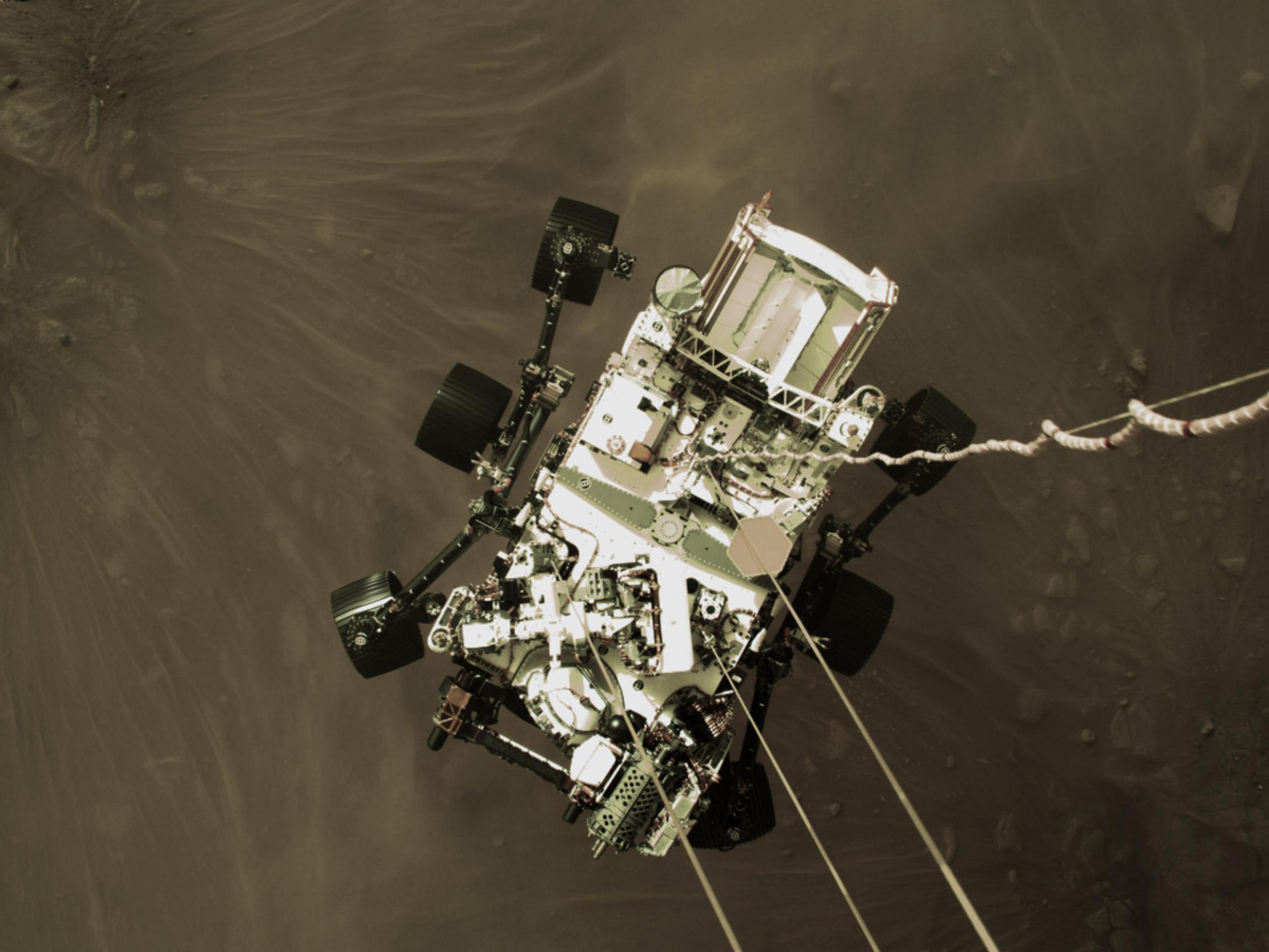 Aterrizaje Perseverance en Marte