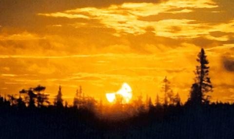 A Rare Eclipse of the Midnight Sun (previous, 550px)
