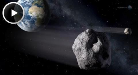 Asteroid Quakes (splash)