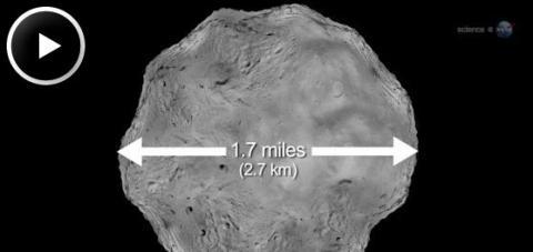 Big Asteroid Flyby (splash)