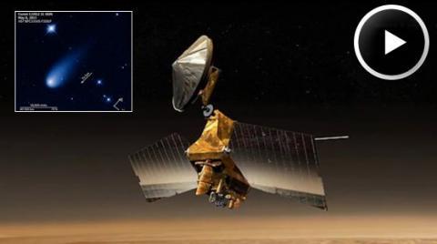 Waves on Titan (splash)