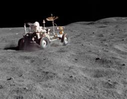 Polvo lunar Apolo