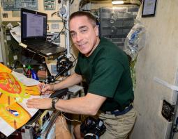 El astronauta de la NASA Chris Cassidy