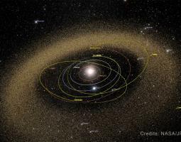 Se está llevando a cabo un esfuerzo coordinado de muchas naciones para detectar y rastrear objetos cercanos a la Tierra, como los asteroides.