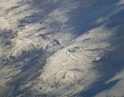 vista oblicua del monte Ararat