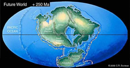 Map Of Australia 50 Million Years Ago.Continents In Collision Pangea Ultima Science Mission Directorate