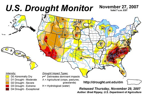 Improving Drought Forecasts Science Mission Directorate - Nasa us drought maps