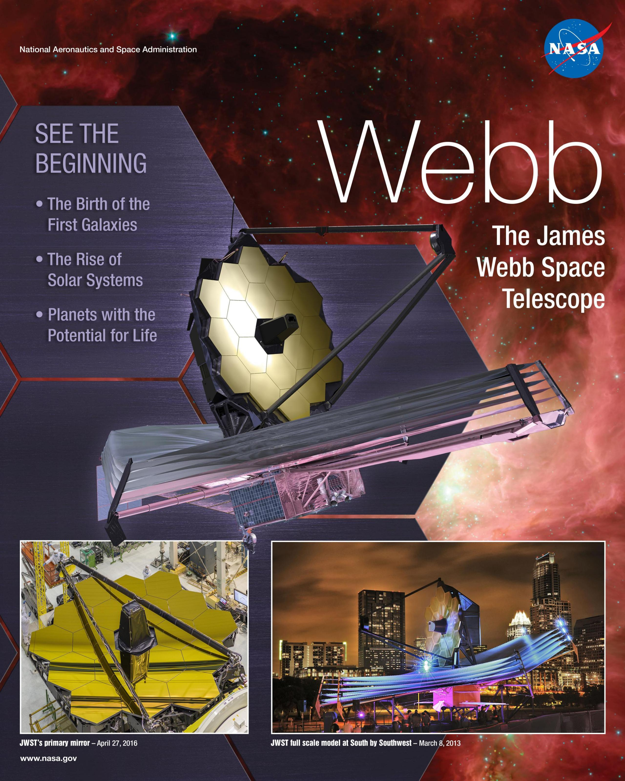 Webb Telescope Mission Poster