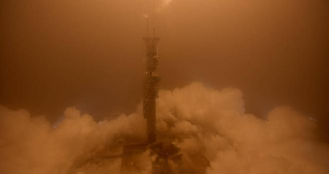 Atlas V lifts off for InSight mission.
