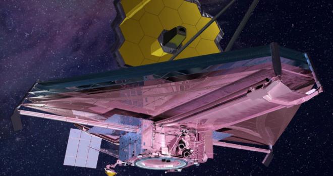 Artist concept of James Webb Space Telescope
