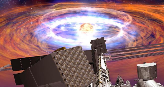 Image of NICER mission