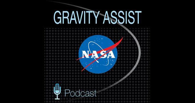 Gravity Assist Podcast Logo