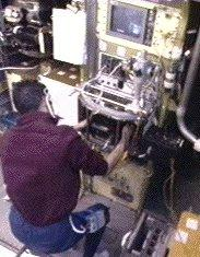monitoring CHT in the glovebox during MSL-1