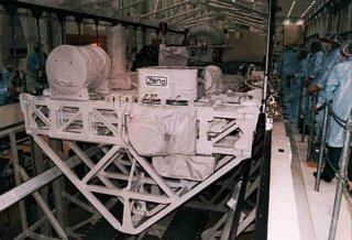 USMP-3 at KSC, January 1996