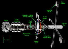 mars spacecraft concept