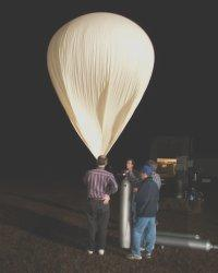 balloon inflation 2 a.m. CST 17 Nov