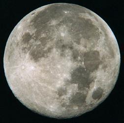 March 1999 Full Moon. Photo courtesy Fred Ruszala