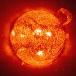 eruptive prominence; 14 Sep 1999