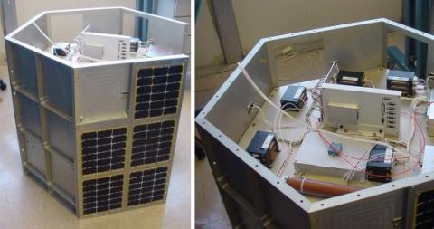 a prototype FASTSAT at the Marshall Space Flight Center