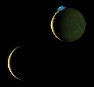 New Horizons - Io & Europa