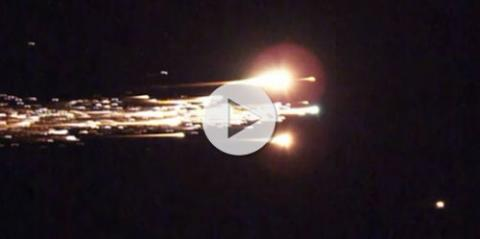 Hayabusa Video (reentry, 500px)
