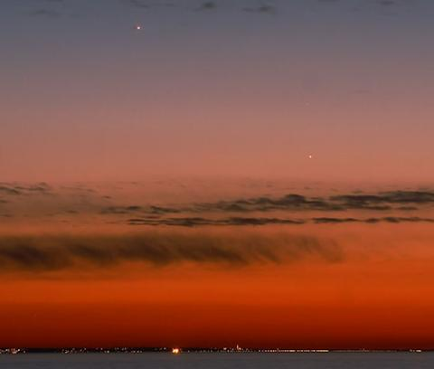 See Mercury at Sunset (Pete Lawrence, 550px)