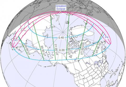 A Rare Eclipse of the Midnight Sun (map, 550px)