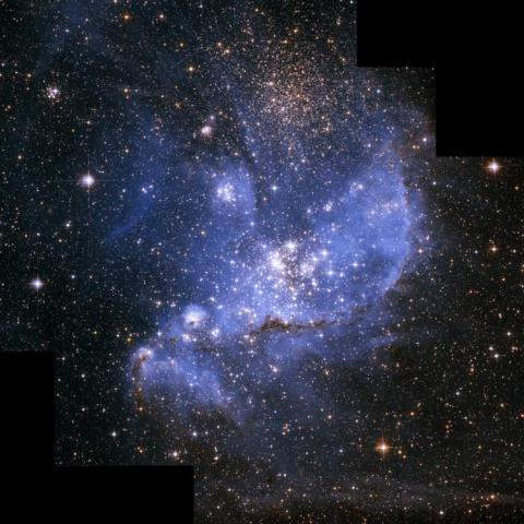 Infant Stars in Small Magellanic Cloud