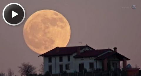 Super Moon 2012 (splash)