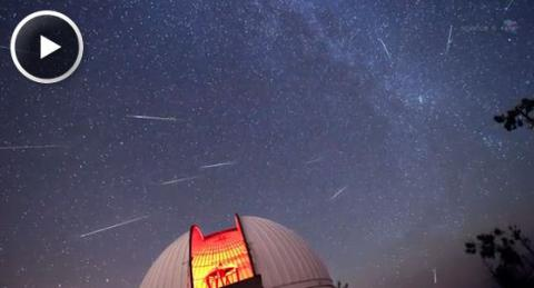 2012 Perseid Meteor Shower (splash)