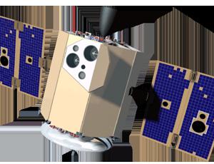 Clementine spacecraft icon