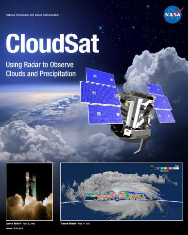CloudSat Mission Poster