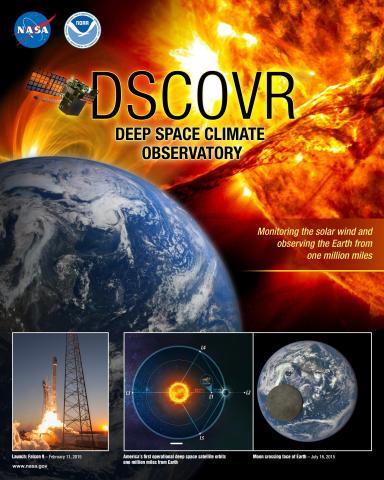 DSCOVR Mission Poster