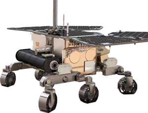 Exo Mars Rover spacecraft icon