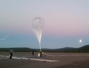 Image of the 1st BARREL Balloon, preparing for launch from Sweden on 13 August 2016