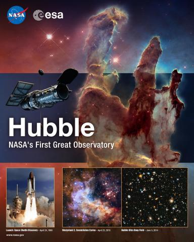 Hubble Mission Poster