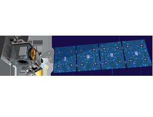ICESat spacecraft icon