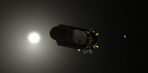 Illustration of NASA's Kepler spacecraft.