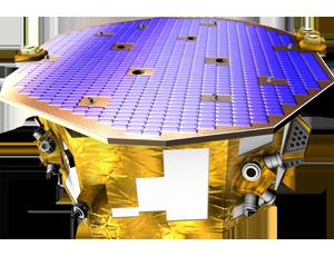 LISA pathfinder st7 spacecraft icon