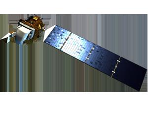 Landsat 8 spacecraft icon